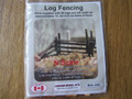 Osborn Model Kits N Scale Log Fencing Kit  RRA-3082
