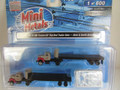 Classic Metal Works N Scale Int Harvest R-190 Tractor/ 32ft Flat Bed Trailer Sets Breir & Smith Building 2 pack #51184