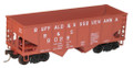 Accurail HO Scale 55 ton USRA Twin Hoppers Buffalo & Susquehanna  B&S 9056