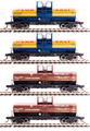 BLI HO Scale 6000 gallon tank car  4 pk Penn Salt