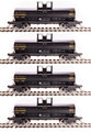 BLI HO Scale 6000 gallon tank car  4 pk UTLX