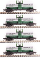 BLI HO Scale 6000 gallon tank car  4 pk Solvay