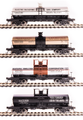 BLI HO Scale 6000 gallon tank car  4 pk Variety C