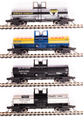 BLI HO Scale 6000 gallon tank car  4 pk Variety F