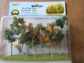 JTT Scenery Products HO Scale Woods, Edge Trees Fall Mixed n 9 pk