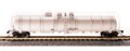 Broadway Limited N Cryogenic Tank Car Undecorated Type A