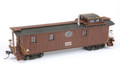AMB LaserKits HO Scale NYC Lot 732 Long Caboose  Kit #887