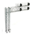 HO SCALE SIGNAL MODERN CANTILEVER BRIDGE [2 TRACK, 4 HEAD-LEFT]