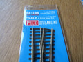 Peco HO/OO Scale Code 100 SL-E86 Large Radius Curved Right Hand Turnout