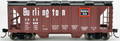 Bowser HO Scale  70 ton covered hopper Burlington CB&Q 181724  RTR