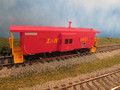 Walthers HO Platinum Line  ICC Bay Window Caboose L&N 6431