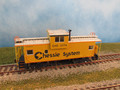 Athearn HO Scale  Wide Vision Caboose C&O Chessie System #3176