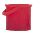 Atlas 3D printed O Scale Red Fire Bucket 8 pack
