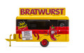 Oxford Diecast HO Scale Commercial Food Trailer Bratwurst
