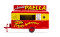 Oxford Diecast HO Scale Commercial Food Trailer Paella