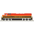 Atlas HO DASH 8-40C GOLD KANSAS CITY SOUTHERN #3499