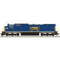 Atlas HO DASH 8-40CW GOLD CSX [CHESSIE HERITAGE DECAL] #7765