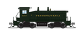Broadway Limited N Scale SW7 PRR Green 9384