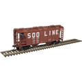 Atlas HO TM PS-2 COVERED HOPPER SOO LINE #6863