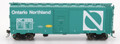 Intermountain HO 1937 AAR 40ft 10ft door Box Car with NSC-2 Ends Ontario Northland   90574
