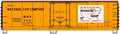 Accurail HO Scale 40ft Steel Reefer National Packing MNX 2376