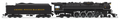 """Broadway HO Scale J3a C&O Greenbriar 4-8-4 In Service Version  #614 Excursion Service, """"Chessie System Railroads"""" Lettering DC/DCC/Sound Smoke!"""