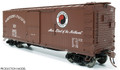 Rapido HO Scale NP 10000 series DS Box Car 1951 Main Street   #12454
