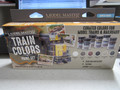 Model Master  Train Colors 6 pack  0.5oz each  Reefer White RR Tie Brown, Boxcar Red, Engine Black, Aged Concrete, Grimy Black