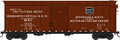 Bowser HO Scale RTR 40 foot Box Car Mississippi Central RR Co MSC 5028  Natchez Route