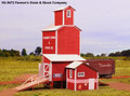 AMB LaserKits O Scale Farmer's Grain & Stock  Kit #472