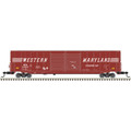 ATLAS  HO 60' ACF AUTO PARTS DD BOX CAR WESTERN MARYLAND #495991