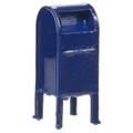 Atlas 3D printed HO Scale Mail Box 4 per package