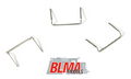"BLMA HO Scale 18"" Drop Grab Irons 60 pack    .008  #4511"
