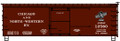 Accurail HO Scale 36ft Double Sheathed Wood Box Car  C&NW 12560