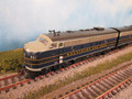 Athearn F7A B  Baltimore and Ohio B&O #961 A and 961 Ax