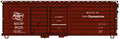 Accurail HO Scale 40ft Rib-Side Double Door Box Car MILWAUKEE ROAD Olympian #9029