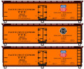 Accurail 3 car set 40ft Steel Reefers PFE NEW