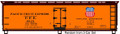Accurail HO Kit 40ft Steel Reefers PFE single