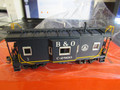 Precision Scale HO Scale B&O Bay Window Caboose I-17     Blue scheme  Brass Factory Painted Very Nice!