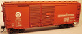 Funaro HO Scale Kit  8440 - Pennsylvania ONE PIECE BODY X37B 40' Automobile Boxcar with Youngstown Door, Wood Roofwalk and PRR Decals