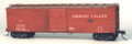 Funaro HO Scale Kit  6681 - 7500 Series with Rev. Murphy Ends, Zenith Roof 5 Pan Sup Dr K Brake