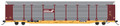 Intermountain HO Scale Bi-Level Autorack Conrail - Brown No Quality Logo - TTGX Flat Car  159560