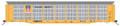 Intermountain HO Scale Bi-Level Autorack Union Pacific - Large Building America - TTGX Flat Car 850621