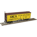 Atlas HO 36' WOOD REEFER REX CANNED MEATS [CUDAHY] #1090