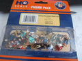 Lionel HO Sitting Passengers Bulk Pack 50 count Hand Painted