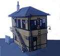 Alexander HO Scale Baltimore & Ohio Interlocking Tower  KIT #7880