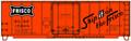 Accurail  40ft Plug Door Box Car KIT  FRISCO SL-SF 15068