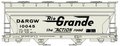 Accurail HO ACF 2-Bay Covered Hoppers Rio Grande D&RGW 10045