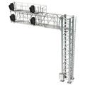 HO SCALE SIGNAL MODERN CANTILEVER BRIDGE [2 TRACK, 4 HEAD-left