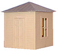 AM Models O Scale Square Shanty Kit #903